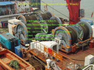 80T Series Of Electric Winch