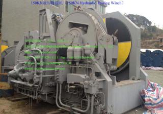 150KN Hydraulic Towing Winch