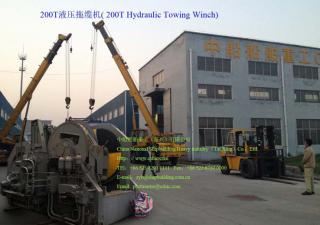 200T Hydraulic Towing Winch