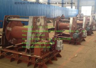 Marine Electric& Manual Winch